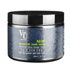 VonU Aloe Маска для волос увлажняющая с алое вера 480 мл, фото