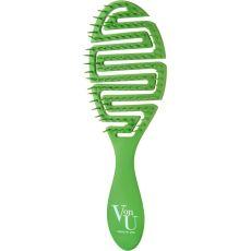 Hairbrush Von-U Spin Brush, green, image
